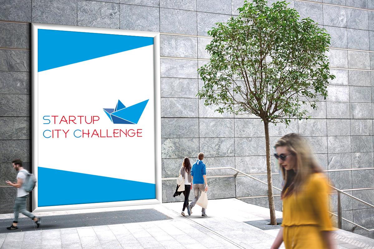 Разработка логотипа спецпроекта «StartupCityChallenge» Разработка логотипов Портфолио